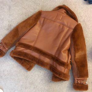 ASOS Jackets & Coats - Tan Sherpa jacket